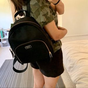 Kate Spade Medium Black Backpack